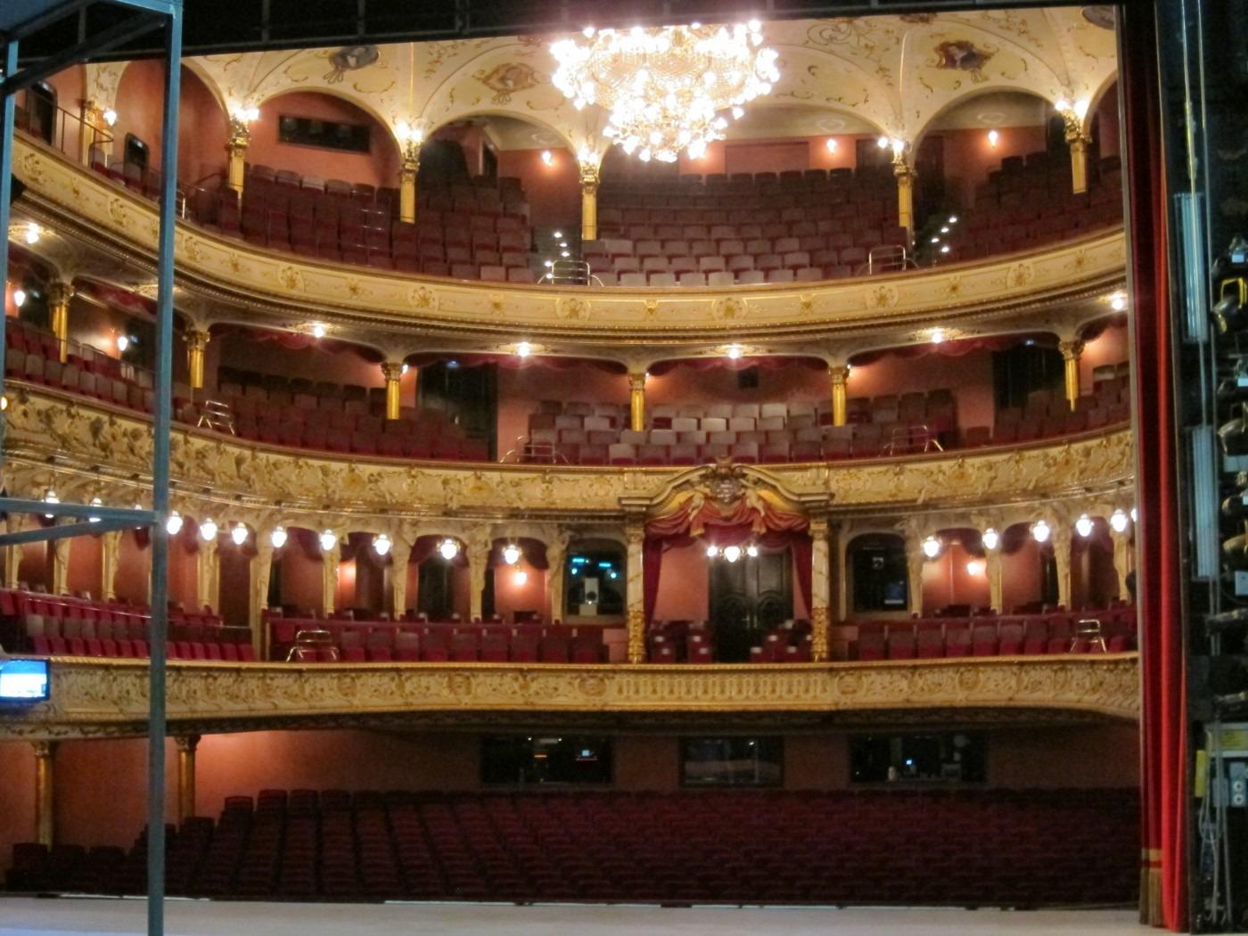 Blick in den Zuschauerraum - Bühne Großes Haus