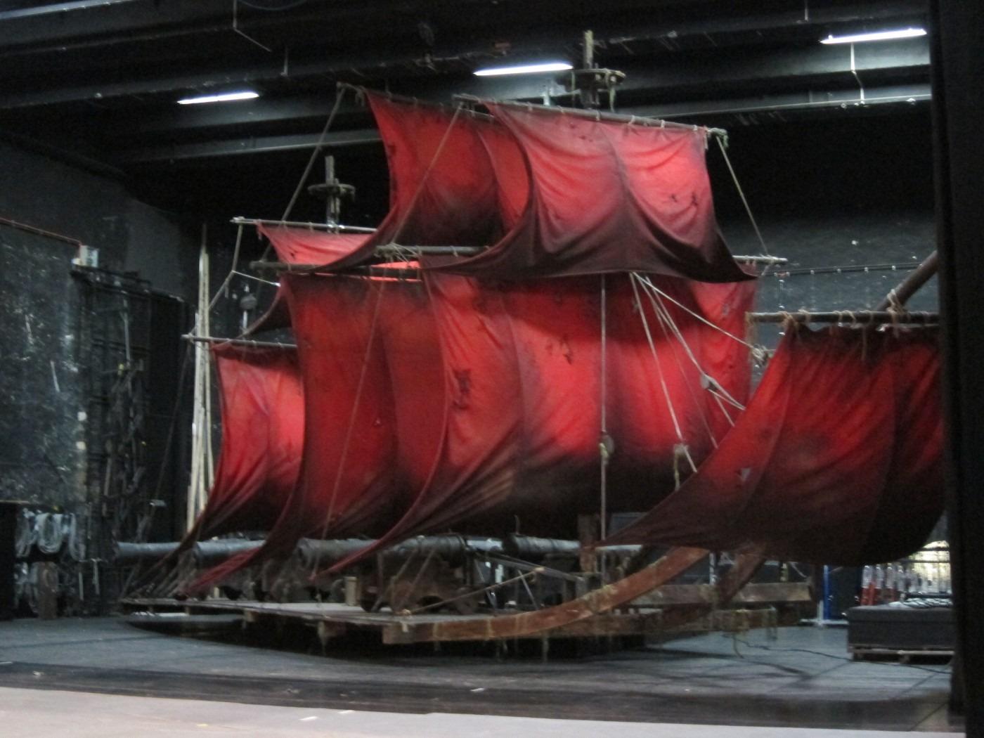 Das Geisterschiff im Fliegenden Hollänger