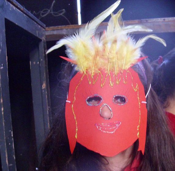Zum Abschluss - Basteln einer Maske