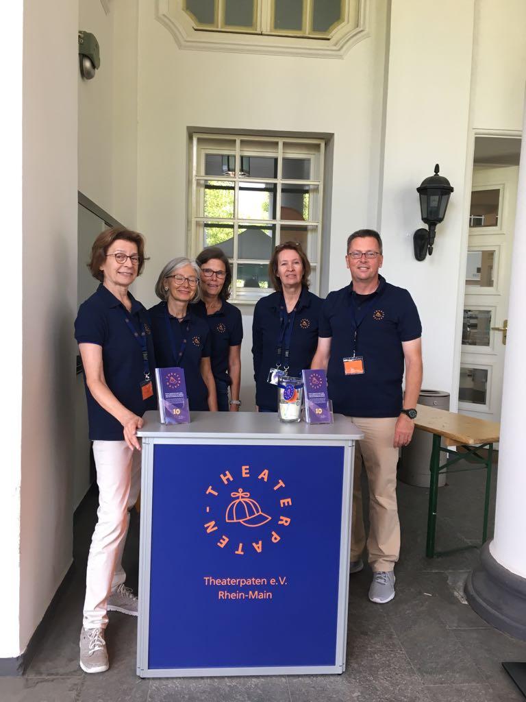 Theaterfest 2018 - Unser Stand, Premiere!