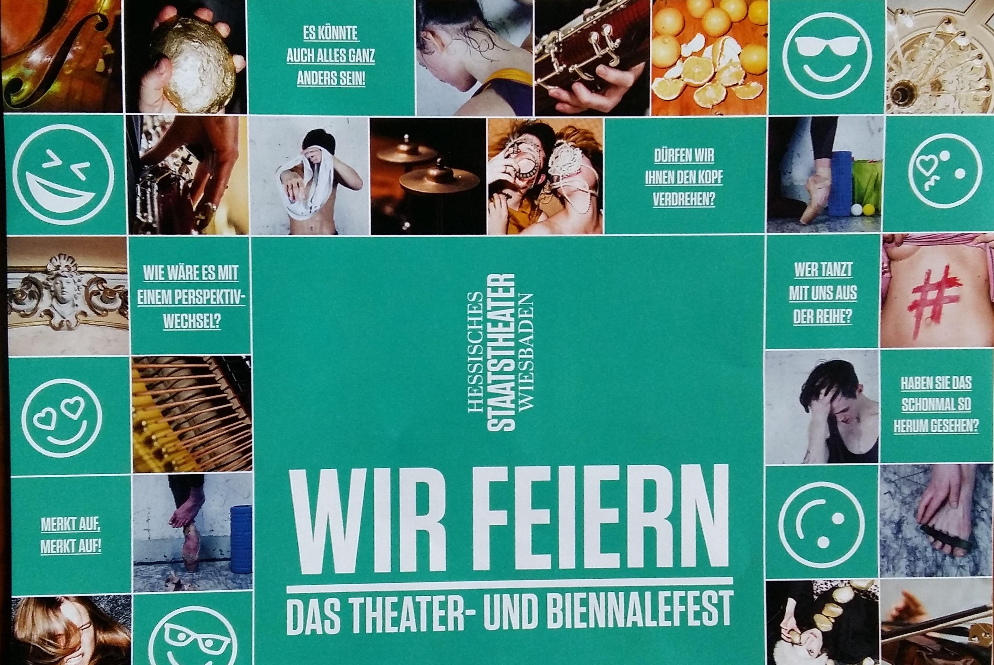 Theaterfest 2018 - Plakat